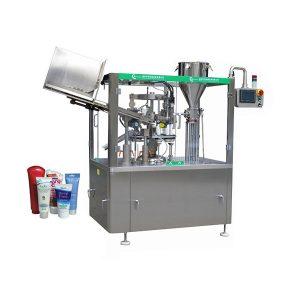 Mesin tabung salep kulit kanthi otomatis lan mesin pengedap