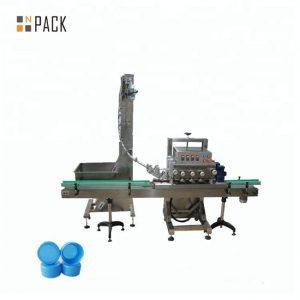 Mesin capping rotary otomatis kanggo botol medis