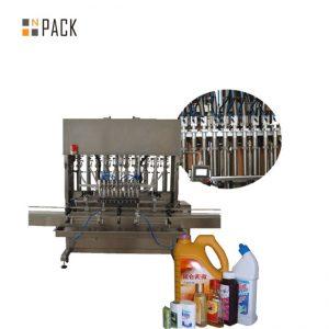 Mesin Pengisi Botol Cairan Otomatis Kanggo Botol Penuh Botol Mripat Penutup Kapabilitas / Pengisi